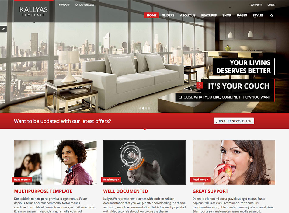 Kallyas – Best Selling WordPress Themes