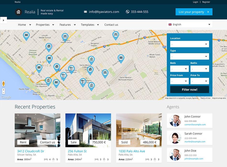 Diseño Web Para Inmobiliarias | inkieto.com